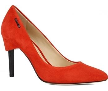 красные замшевые туфли (8)