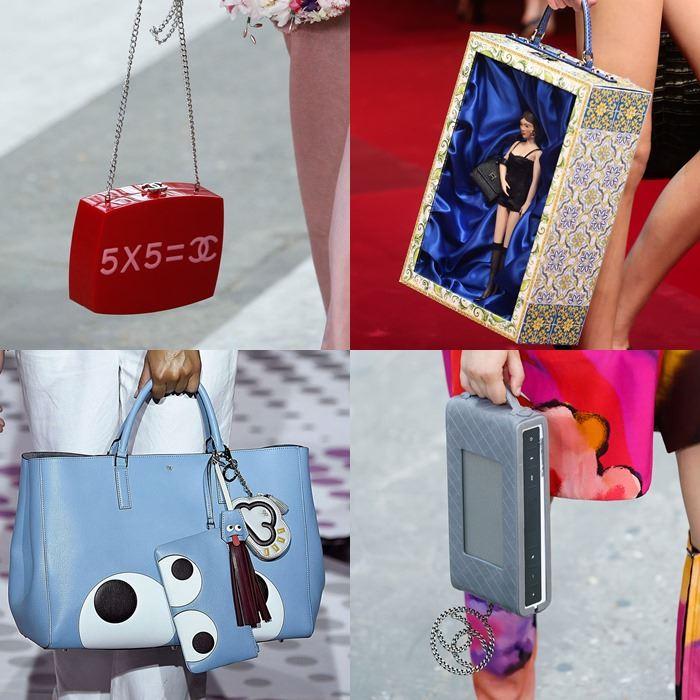 Модные женские фантазийные сумки весна-лето 2015