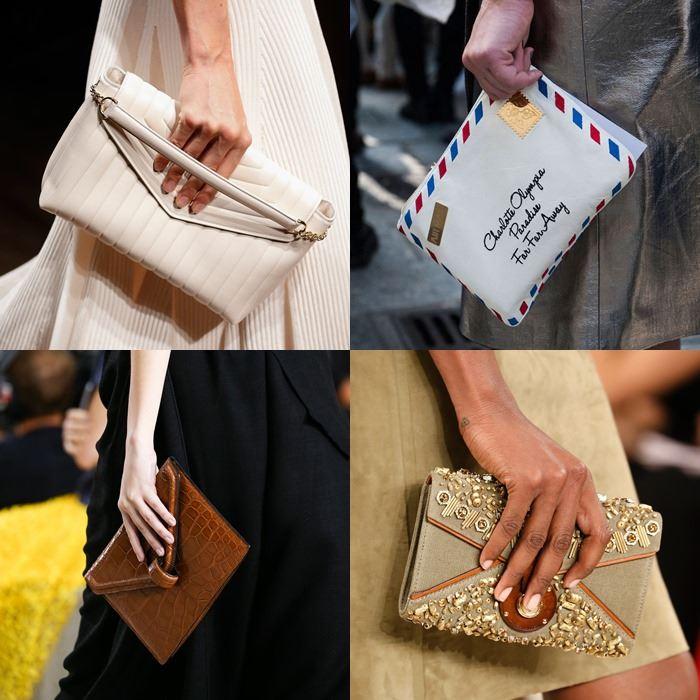 Модные женские клатчи-конверты весна-лето 2015