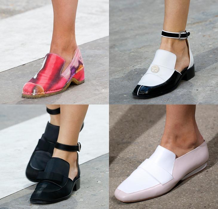 Модные женские лоферы весна-лето 2015