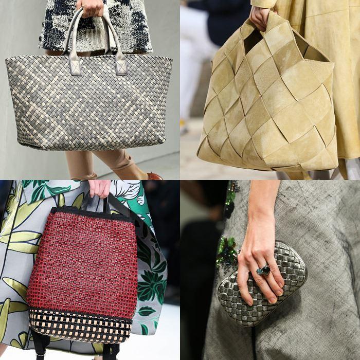 Модные женские плетеные сумки весна-лето 2015