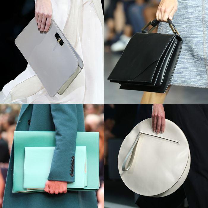 Модные женские плоские сумки весна-лето 2015