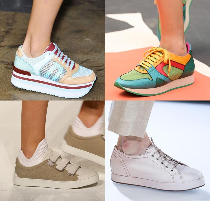 Спортивная обувь весна-лето 2015