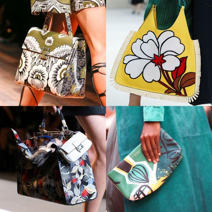 Модные женские сумки с принтом весна-лето 2015