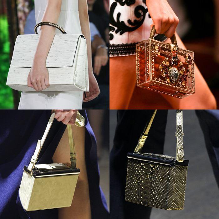 Модные женские жесткие сумки весна-лето 2015