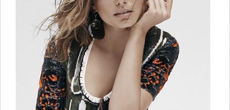 Андреа Диакону в фотосессии Vogue Spain (февраль 2015)
