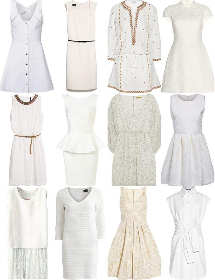 купить белые платья в интернет-магазинах