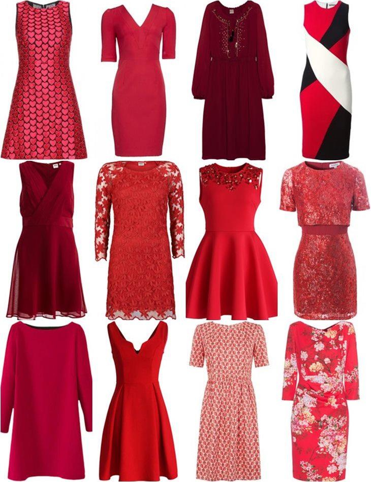 купить красные платья в интернет-магазинах