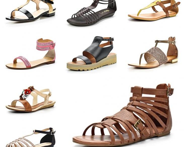 Купить сандалии в интернет-магазине