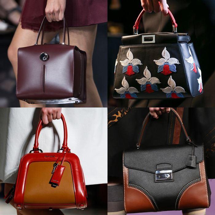 Модные женские сумки в ретро стиле весна-лето 2015
