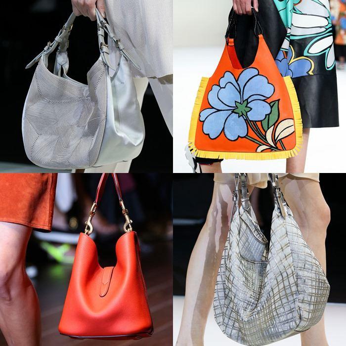 Модные женские сумки хобо весна-лето 2015