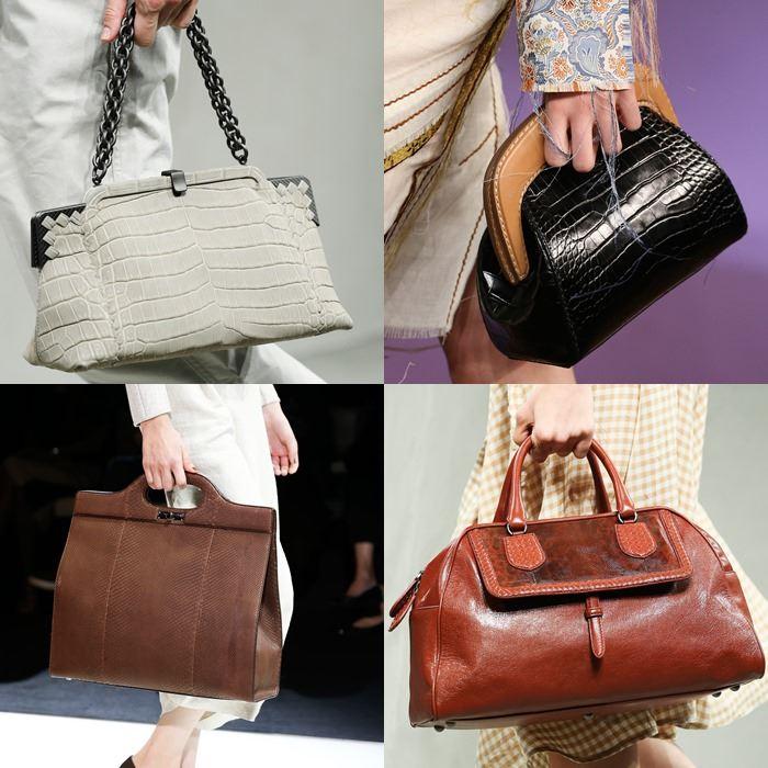 Модные женские жесткие сумки ридикюли весна-лето 2015