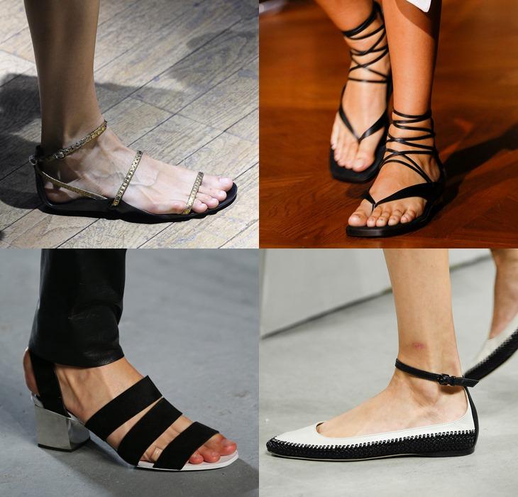 туфли в римском стиле весна-лето 2015