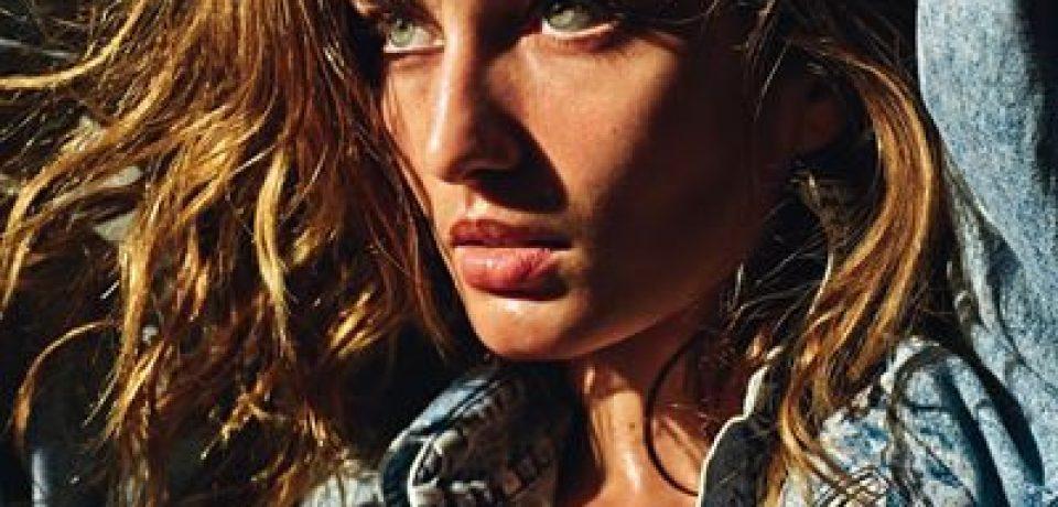 Андреа Диакону в фотосессии Vogue Paris (март 2015)