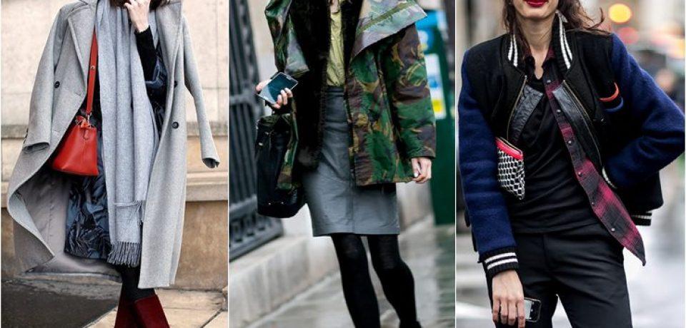 Уличный стиль моделей в Париже на Неделе Моды Haute Couture весна-2015