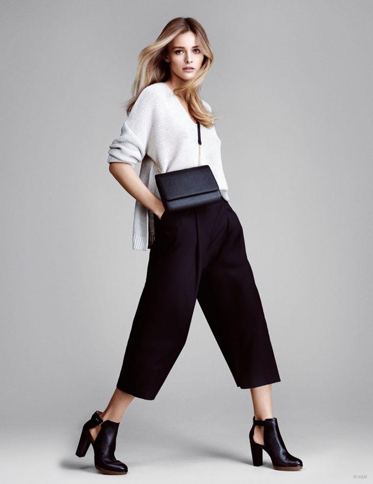 кюлоты брюки hm весна 2015