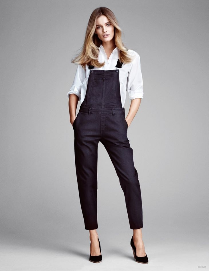 комбинезон брюки hm весна 2015