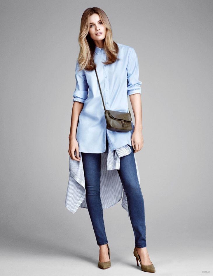 джинсы слим hm весна 2015