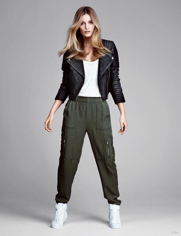 карго брюки hm весна 2015