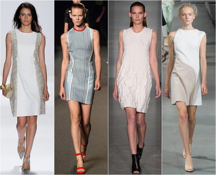 Короткие платья футляр весна лето 2015