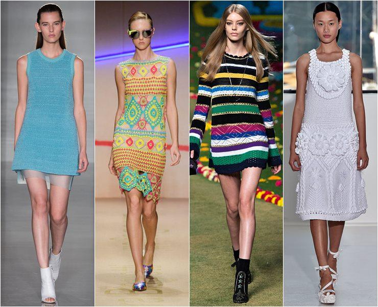 Короткие трикотажные платья весне лето 2015