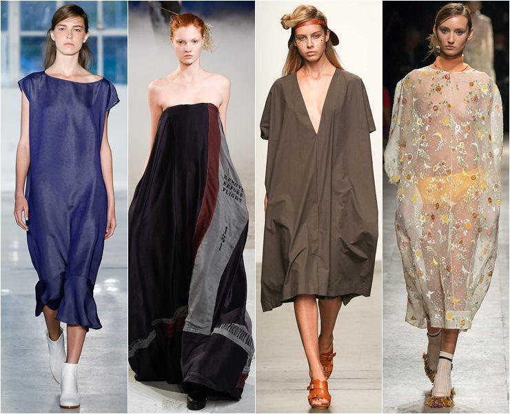 свободные платья oversize