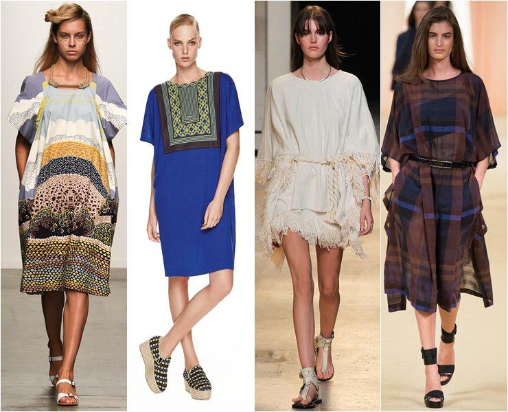 платья-туники в римском стиле