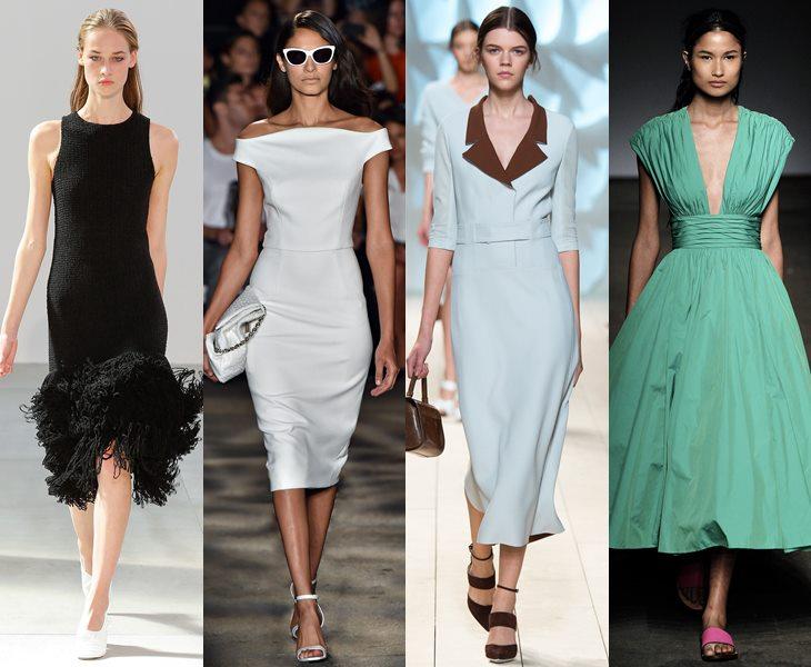Платья в стиле ретро весна лето 2015