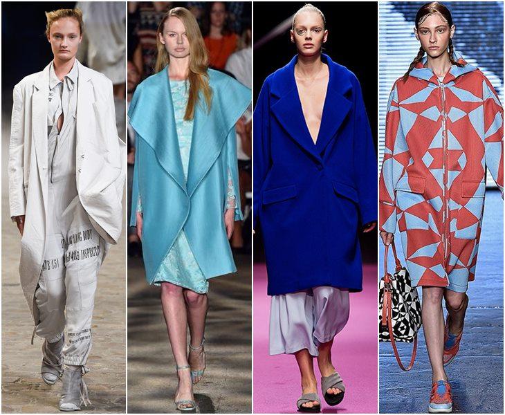 Пальто oversize весна-лето 2015