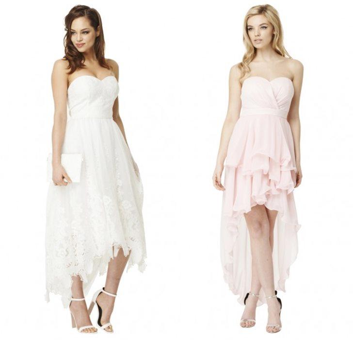 Выпускные платья хай-лоу
