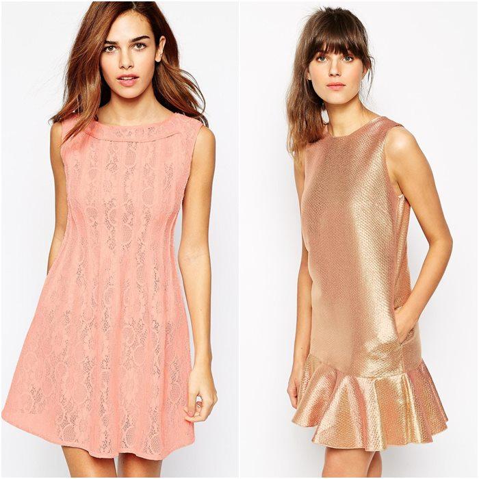 Выпускные платья в стиле шестидесятых