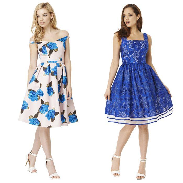 Выпускные платья в стиле пятидесятых