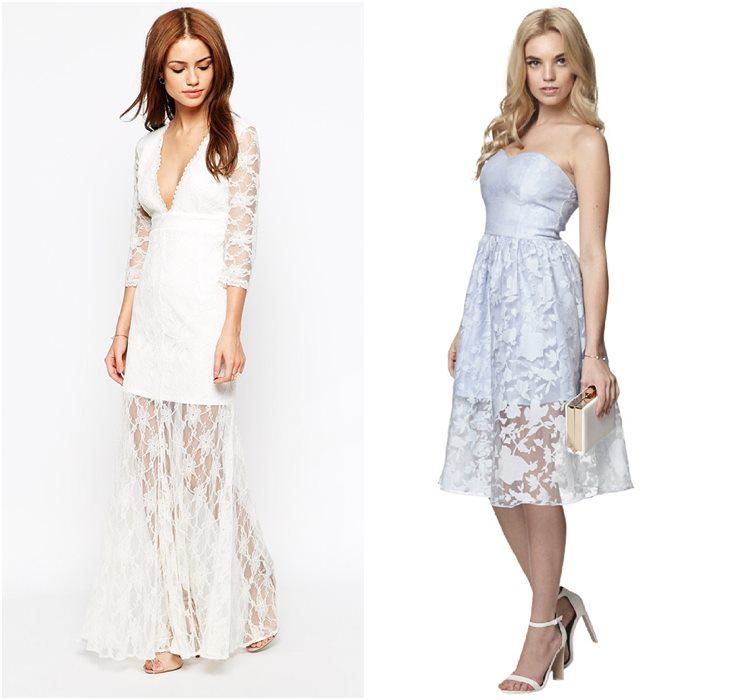 Выпускные платья с прозрачной юбкой