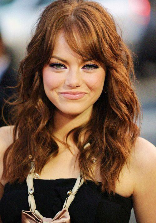 прически на длинные волосы для полного лица (4)