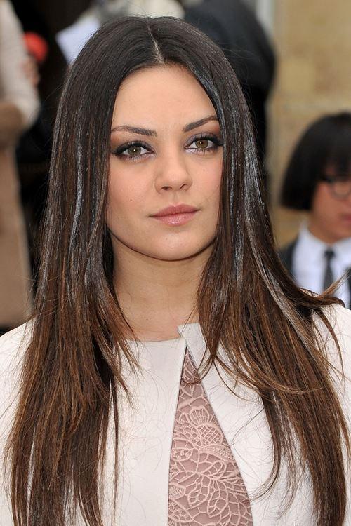 прически на длинные волосы для полного лица (9)