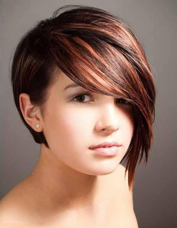 стрижка каре боб на средние волосы для полного лица с пухлыми щеками (2)