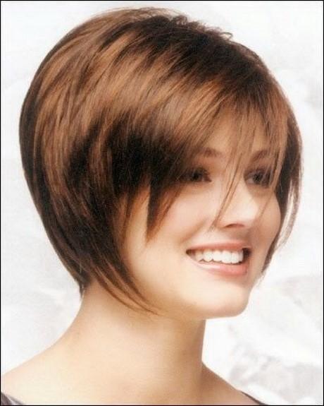стрижка каре боб на средние волосы для полного лица с пухлыми щеками (8)
