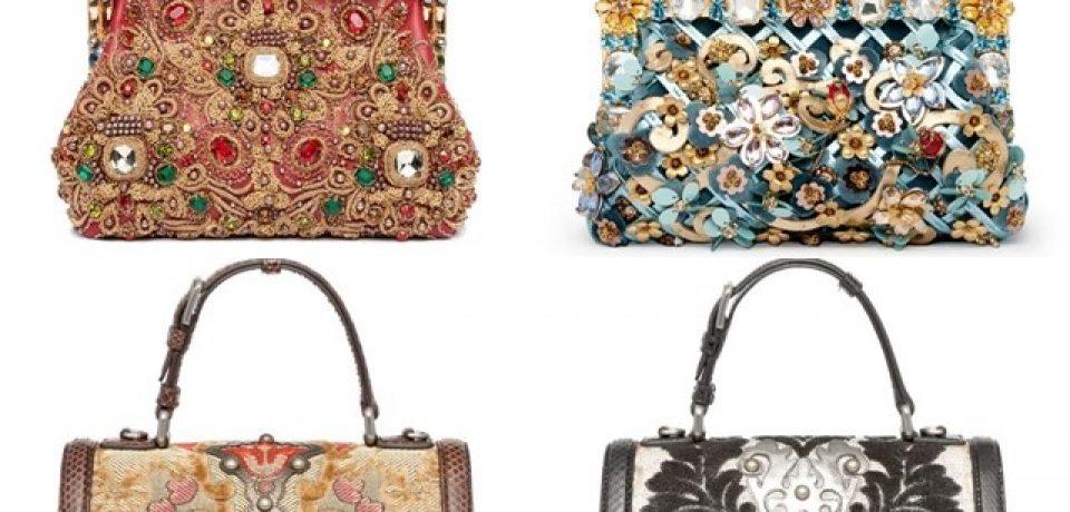 Коллекция сумок Dolce&Gabbana осень-зима 2014-2015