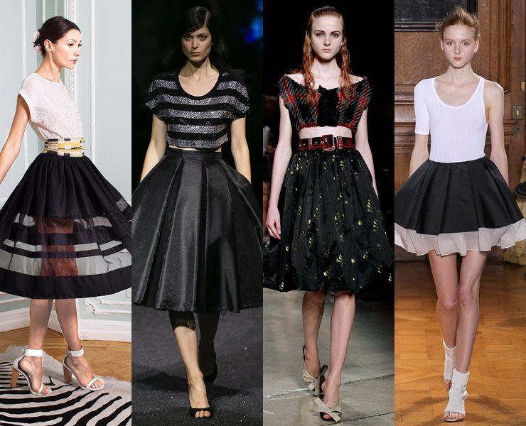 63daeadc8aa Модные юбки весна-лето 2015