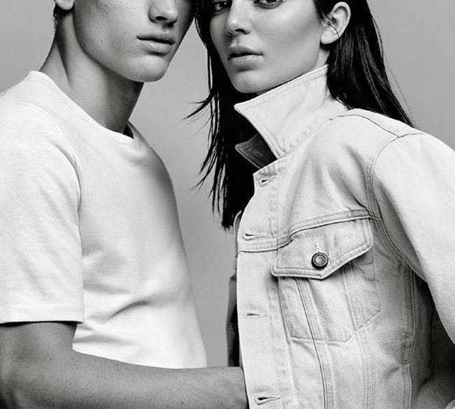 кендалл дженнер calvin klein jeans 2015 (1)