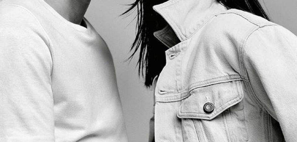 Кендалл Дженнер в рекламной кампании Calvin Klein Jeans