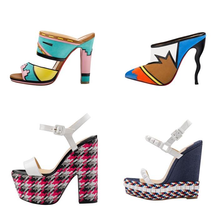 коллекция обуви Christian Louboutin весна лето 2015  (1)