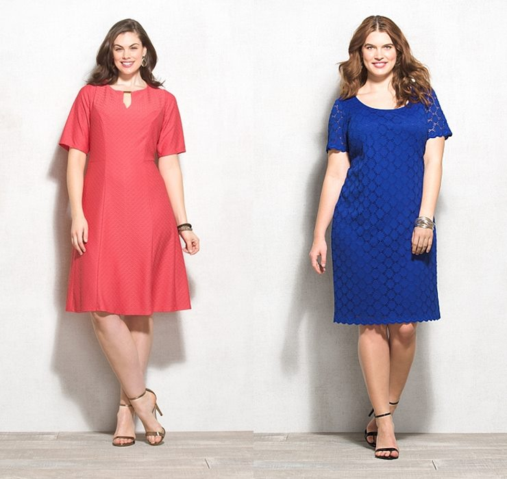летние платья сарафаны для полных 2015 (1)