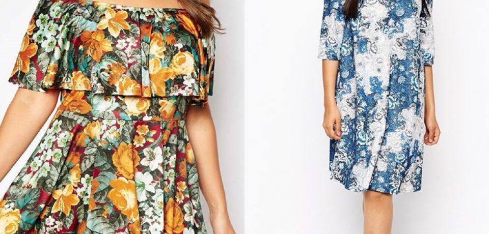 Летние платья и сарафаны для полных 2015