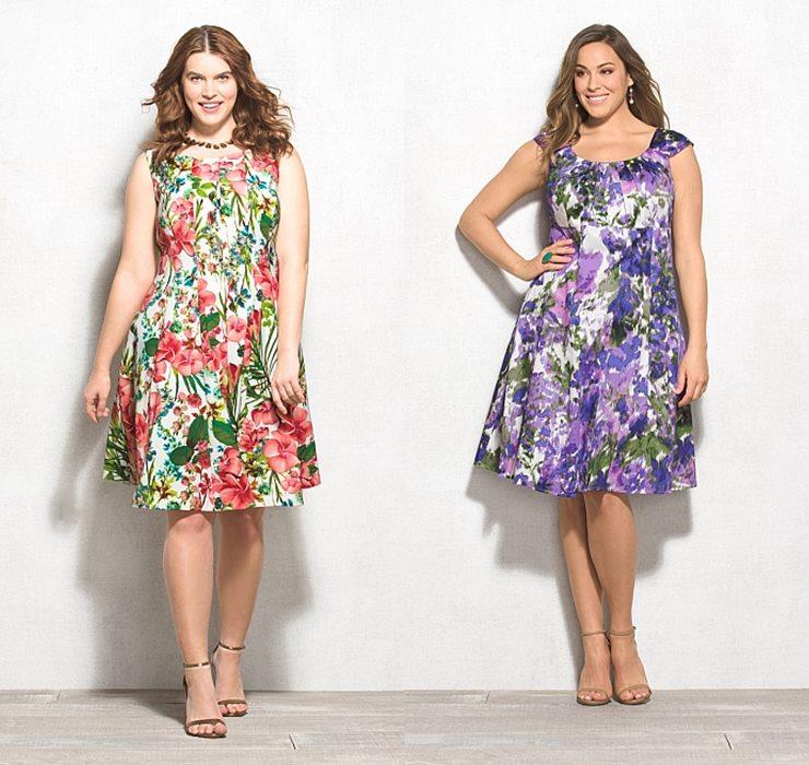 Превью летние платья сарафаны для полных 2015 (2. летние платья сарафаны для полных 2015 (2