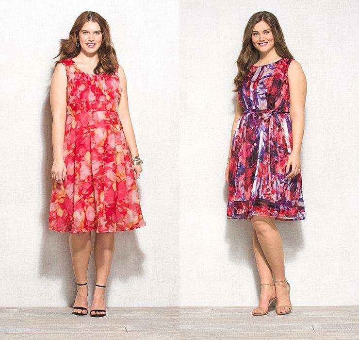 летние платья сарафаны для полных 2015 (3)