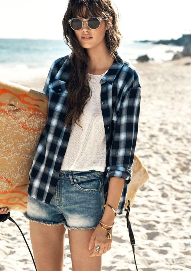 лукбук лето пляжный стиль mango 2015 (4)