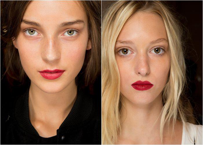 макияж burberry prorsum весна лето 2015