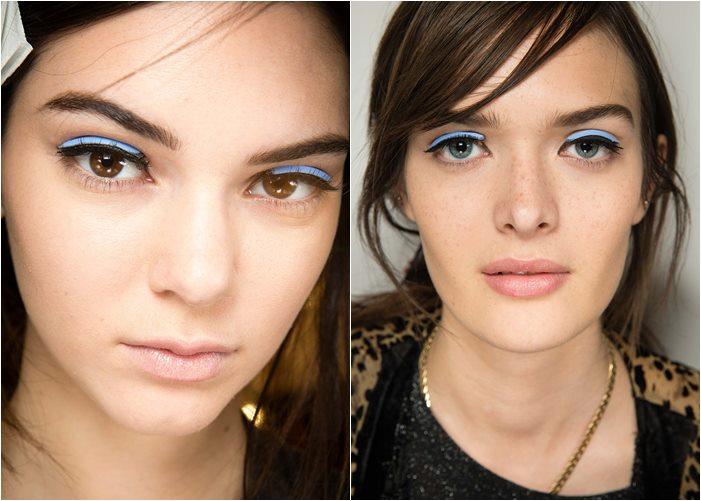 макияж fendi весна-лето 2015