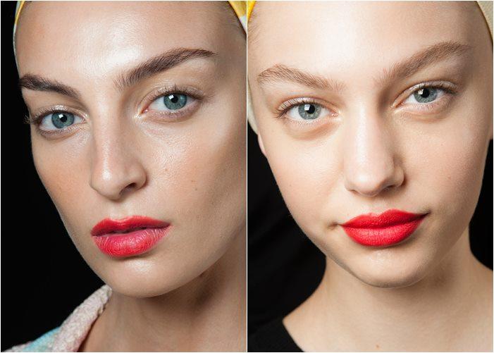 макияж missoni весна лето 2015